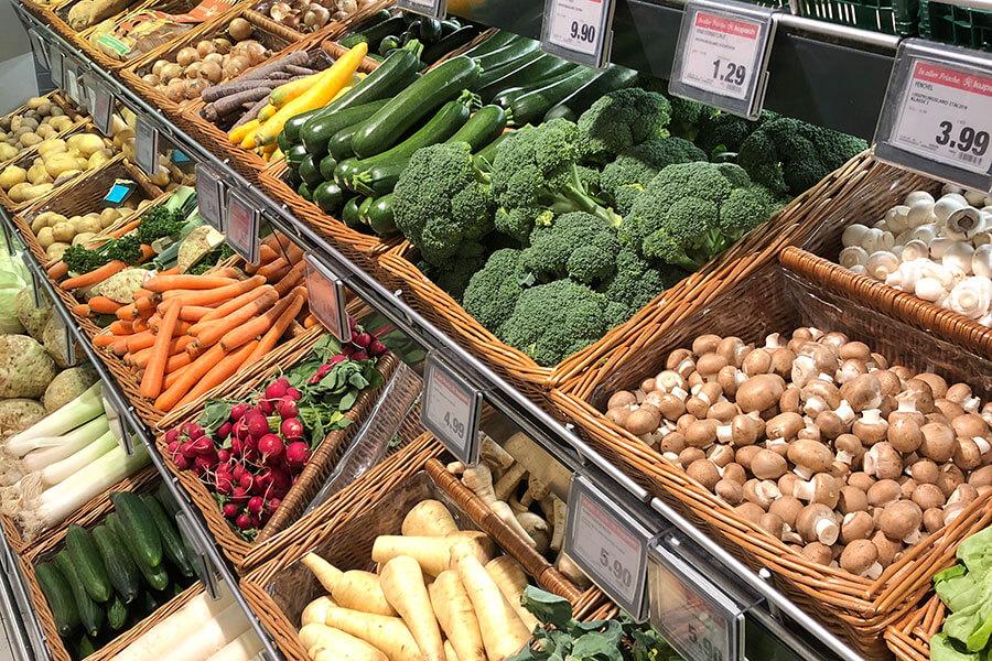 Obst und Gemüse bei Kupsch Markt Luksch